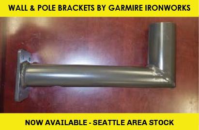 Wall and Pole Brackets by Garmire Ironworks