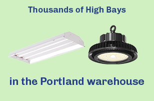 1000's of High Bays in Portland